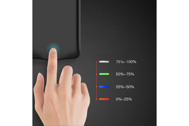 Чехол-бампер со встроенной усиленной мощной батарей-аккумулятором большой повышенной расширенной ёмкости 5200 mAh для Google Pixel 2 XL черный + гарантия