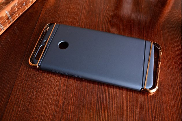 Фирменная ультра-тонкая пластиковая задняя панель-чехол-накладка для Huawei Honor 8 Pro 5.7/Huawei Honor V9 5.7(DUK-AL20) синего цвета
