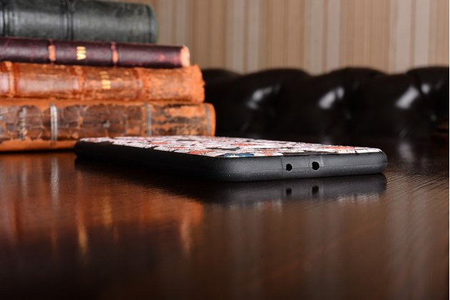 """Фирменная уникальная задняя панель-крышка-накладка из тончайшего силикона для Huawei Honor 8 Pro 5.7/Huawei Honor V9 5.7(DUK-AL20) """"тематика Ромашки"""""""