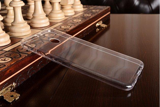Фирменная ультра-тонкая силиконовая задняя панель-чехол-накладка для Huawei Honor 8 Pro 5.7/Huawei Honor V9 5.7(DUK-AL20) прозрачная