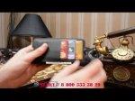"""Фирменный чехол-книжка из качественной импортной кожи с мульти-подставкой застёжкой и визитницей для Alcatel IDOL 4 6055K 5.2""""/Idol 4 5.2"""" черный"""