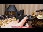 """Фирменный чехол-книжка из качественной импортной кожи с подставкой застёжкой и визитницей для HTC 10 / HTC Ван М10 / Лайфстайл 10 5.2"""" черный"""