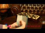Чехол-книжка из качественной импортной кожи для Lenovo IdeaPhone K900 бирюзовый кожаный