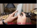 """Фирменный умный тонкий легкий чехол для Samsung 7.0 P6200 """"Il Sottile"""" зелёный пластиковый"""