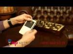 Чехол-книжка для Samsung Galaxy Note 3 SM-N900/N9005 с окошком белый кожаный