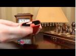 Фирменный вертикальный откидной чехол-флип для Samsung Galaxy Note 2 GT-N7100/N7105 красный кожаный