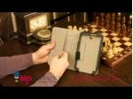 "Чехол-обложка для Samsung Galaxy Tab 3 7.0 T210/T211 натуральная кожа 'Prestige"" Италия"