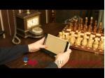 """Чехол-обложка для Asus Google Nexus 7 1-го поколения 2012 кремовый кожаный """"Премиум"""""""