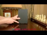 """Фирменный умный тонкий легкий чехол для Xiaomi Mipad 2/3 7.9 """" (IPS Intel X5-Z8500) """"Il Sottile"""" черный пластиковый"""