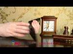 """Фирменный оригинальный вертикальный откидной чехол-флип для Acer Liquid Jade S55 черный из качественной импортной кожи """"Prestige"""" Италия"""