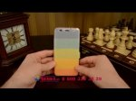 """Фирменный уникальный необычный чехол-книжка для Huawei Honor 4A/Y6/ Y6 Dual sim  """"тематика все цвета радуги"""""""