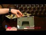 "Фирменный чехол для Asus MeMO Pad HD 7 ME173X model K00B белый натуральная кожа ""Deluxe"" Италия"