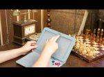 """Чехол для Samsung Galaxy Tab 2 10.1 P5100 тематика """"Олени в цветах"""""""
