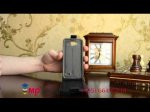 """Фирменный оригинальный вертикальный откидной чехол-флип для Alcatel One Touch IDOL MINI 6012D/X черный из качественной импортной кожи """"Prestige"""" Италия"""