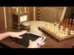 """Чехол для Apple iPad 2/3/4 """"тематика Биг Бэн Лондон"""" кожаный"""