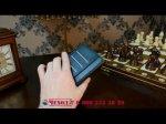 """Фирменный чехол-книжка из качественной импортной кожи с мульти-подставкой застёжкой и визитницей для Асус Зенфон 2 Лазер ЗЕ601КЛ 6.0"""" черный"""