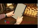 Фирменный чехол-обложка для Huawei Mediapad 10 FHD кожа крокодила черный
