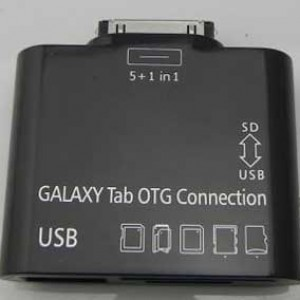USB переходник + разъем для карт памяти для Samsung Galaxy Tab 1 P7500/P7510