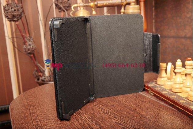 Чехол-обложка для 3Q Qoo Q-pad LC0809B кожаный цвет в ассортименте