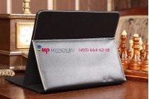 Чехол-обложка для 3Q Qoo q-pad BC9710AM черный кожаный