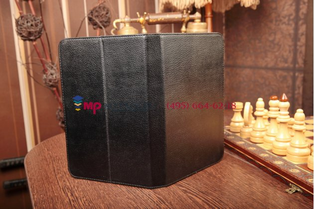 Чехол-обложка для 3Q Qoo q-pad BC9710AM кожаный цвет в ассортименте