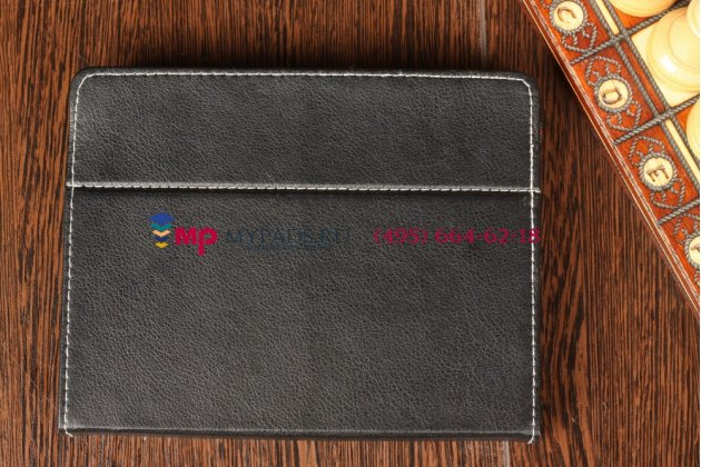 Чехол-обложка для 3Q Qoo! Q-pad LC0901D 1Gb DDR3 8Gb eMMC черный кожаный