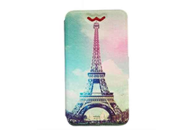 """Чехол-книжка для iPhone 7 4.7"""" (Айфон 7) с застежкой и красивым необычным рисунком и внутренним защитным силиконовым бампером"""