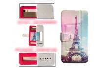 Чехол-книжка для Samsung Galaxy Y Duos GT-S6102 с застежкой и красивым необычным рисунком и внутренним защитным силиконовым бампером