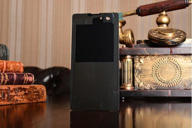 Родная оригинальная задняя крышка-панель которая шла в комплекте для Sony Xperia Z1 Compact D5503 / Z1S/M51w черная