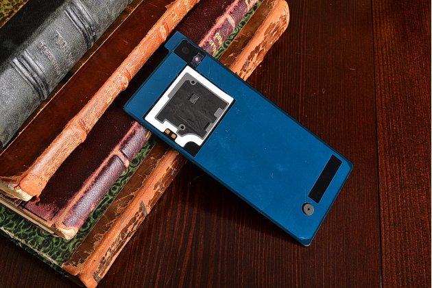 Родная оригинальная задняя крышка-панель которая шла в комплекте для Sony Xperia Z2 D6503/D6502/D650/L50W фиолетовая