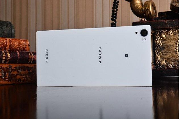 Родная оригинальная задняя крышка-панель которая шла в комплекте для Sony Xperia Z1 / L39H C6902 / C6903 / C6906 белая
