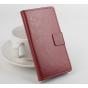 Фирменный чехол-книжка из качественной импортной кожи с мульти-подставкой застёжкой и визитницей для Айсер Эсе..