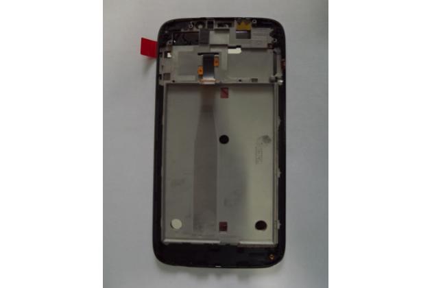 Фирменный LCD-ЖК-сенсорный дисплей-экран-стекло с тачскрином на телефон Acer Liquid Jade Z S57  черный + гарантия