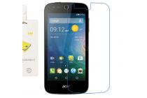 Фирменная оригинальная защитная пленка для телефона Acer Liquid Z330 Duo/M330 глянцевая