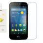 Фирменная оригинальная защитная пленка для телефона Acer Liquid Z330 Duo/M330 глянцевая..