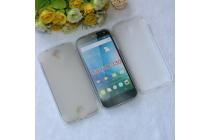 Фирменная ультра-тонкая полимерная из мягкого качественного силикона задняя панель-чехол-накладка для Acer Liquid Z330/ Z330 Duo/M330 белая