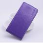 Фирменный вертикальный откидной чехол-флип для Acer Liquid Z330/ Z330 Duo/M330 фиолетовый..