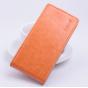 Фирменный вертикальный откидной чехол-флип для Acer Liquid Z330/ Z330 Duo/M330 оранжевый..