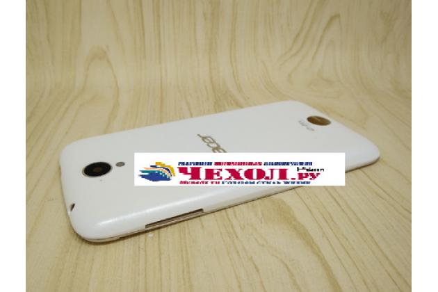 Родная оригинальная задняя крышка-панель которая шла в комплекте для Acer Liquid Z330/ Z330 Duo/M330 белая