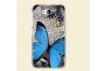 """Фирменная роскошная задняя панель-чехол-накладка с безумно красивым рисунком для Acer Liquid Z520 / Z520 Duo """"тематика Бабочка"""""""
