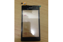 Фирменное сенсорное стекло-тачскрин для телефона Acer Liquid Z520 / Z520 Duo черный и инструменты для вскрытия + гарантия