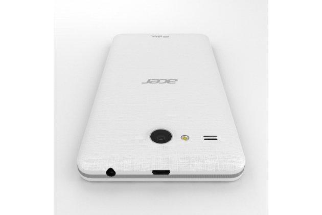Родная оригинальная задняя крышка-панель которая шла в комплекте для Acer Liquid Z520 / Z520 Duo белая