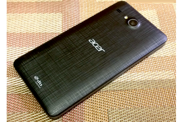 Родная оригинальная задняя крышка-панель которая шла в комплекте для Acer Liquid Z520 / Z520 Duo черная