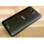 Родная оригинальная задняя крышка-панель которая шла в комплекте для Acer Liquid Z520 / Z520 Duo черная..