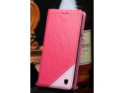 Фирменный чехол-книжка из натуральной кожи с прошивкой и подставкой для Acer Liquid Z530 / Z530 Duo розовый..