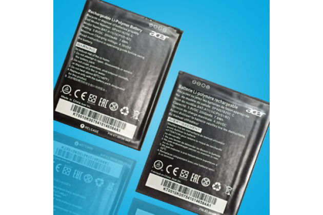 Фирменная аккумуляторная батарея BAT-E10 2400mah на телефон Acer Liquid Z530 / Z530 Duo + гарантия
