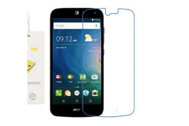 Фирменная оригинальная защитная пленка для телефона Acer Liquid Z530 глянцевая