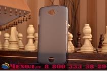 Фирменная ультра-тонкая полимерная из мягкого качественного силикона задняя панель-чехол-накладка для  Acer Liquid Z530 черная