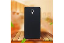 """Фирменная ультра-тонкая силиконовая задняя панель-чехол-накладка для Acer Liquid Z6 Plus 5.5"""" черная"""