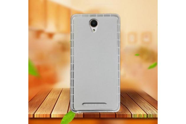 """Фирменная ультра-тонкая силиконовая задняя панель-чехол-накладка для Acer Liquid Z6 5.0"""" белая"""